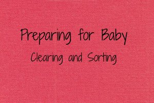 Preparing for baby