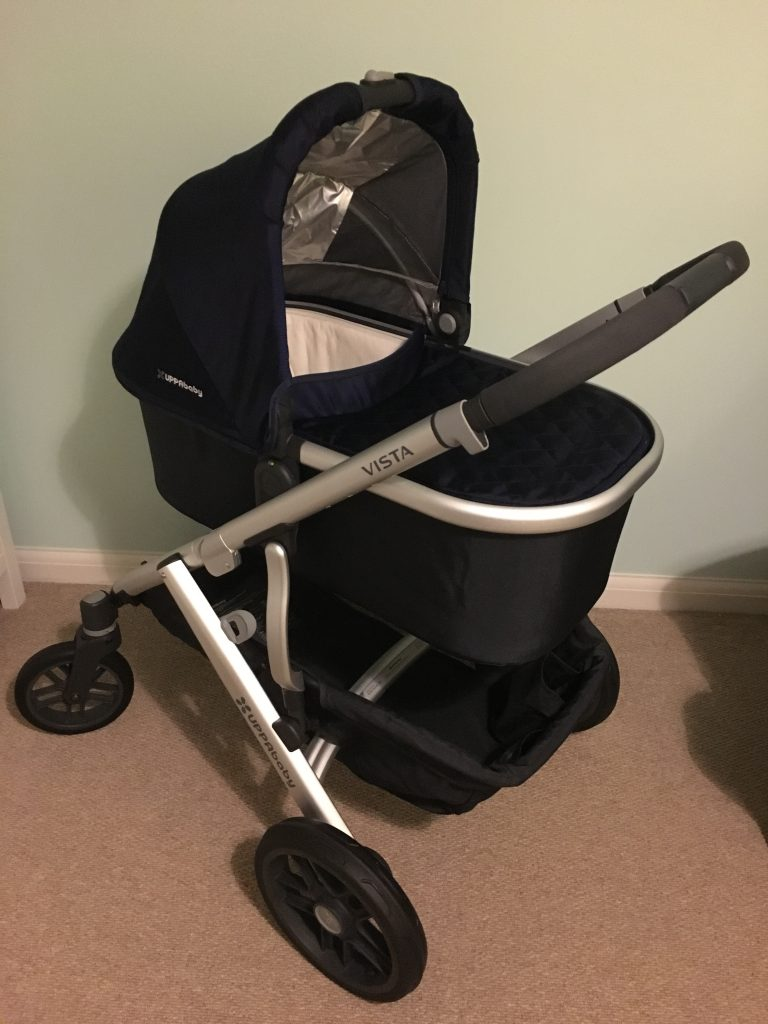 When To Get Out The Pram Uppababy Vista First Impressions