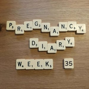 pregnancy diary, pregnancy week 35, week 35, pregnant, pregnancy journal