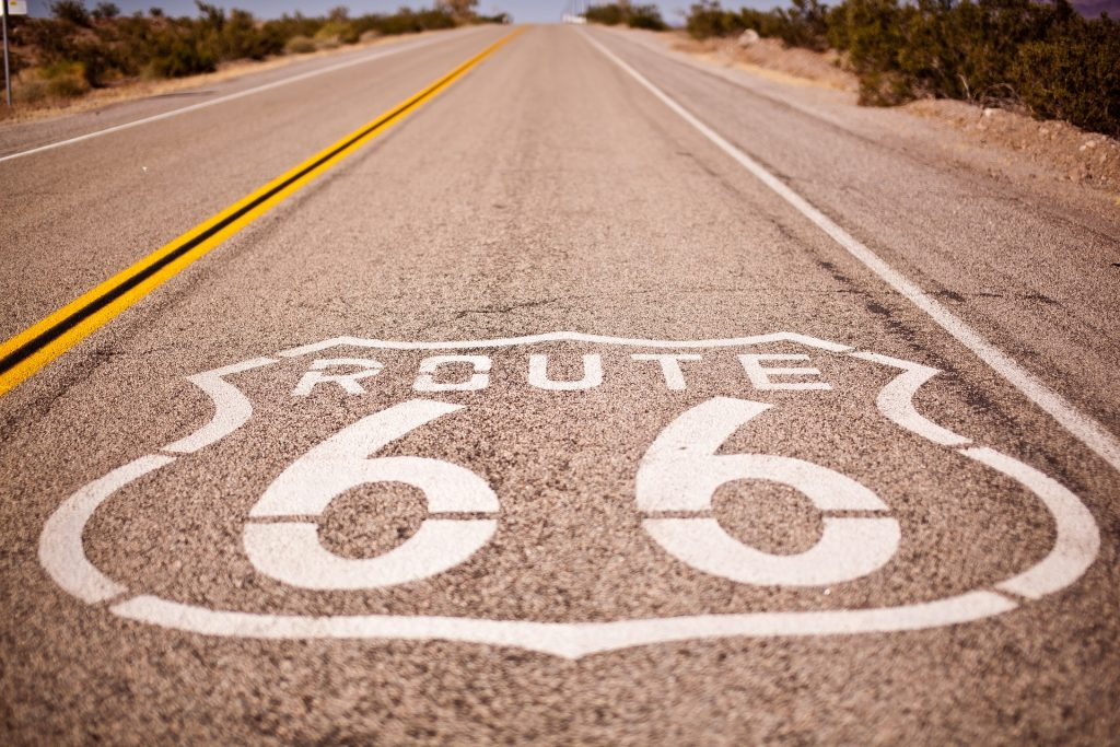 Route 66, California