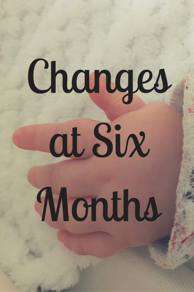 Changes at six months Pinterest Image