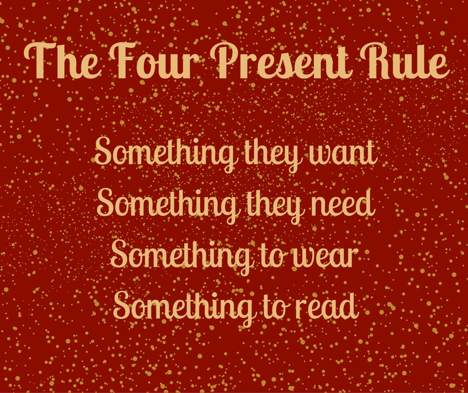 Four present rule, four gift rule