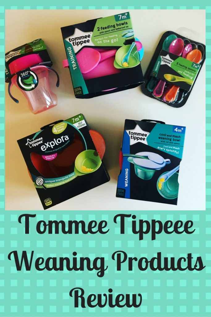 tommee tippee weaning review