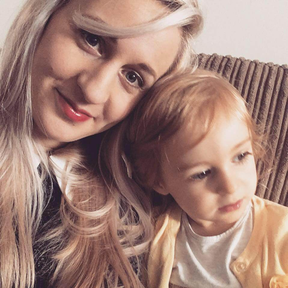 A Blonde and a Baby