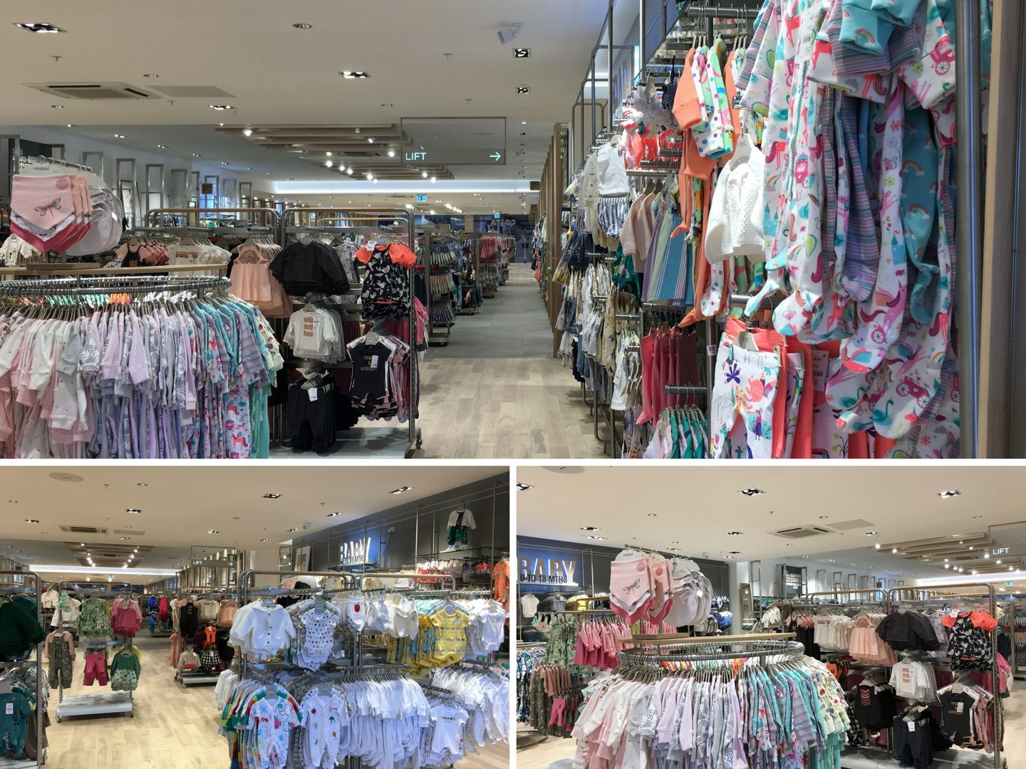 Next children's wear, next childrenswear, kid's clothes, baby sleepsuits, Next Lakeside, Next intu Lakeside