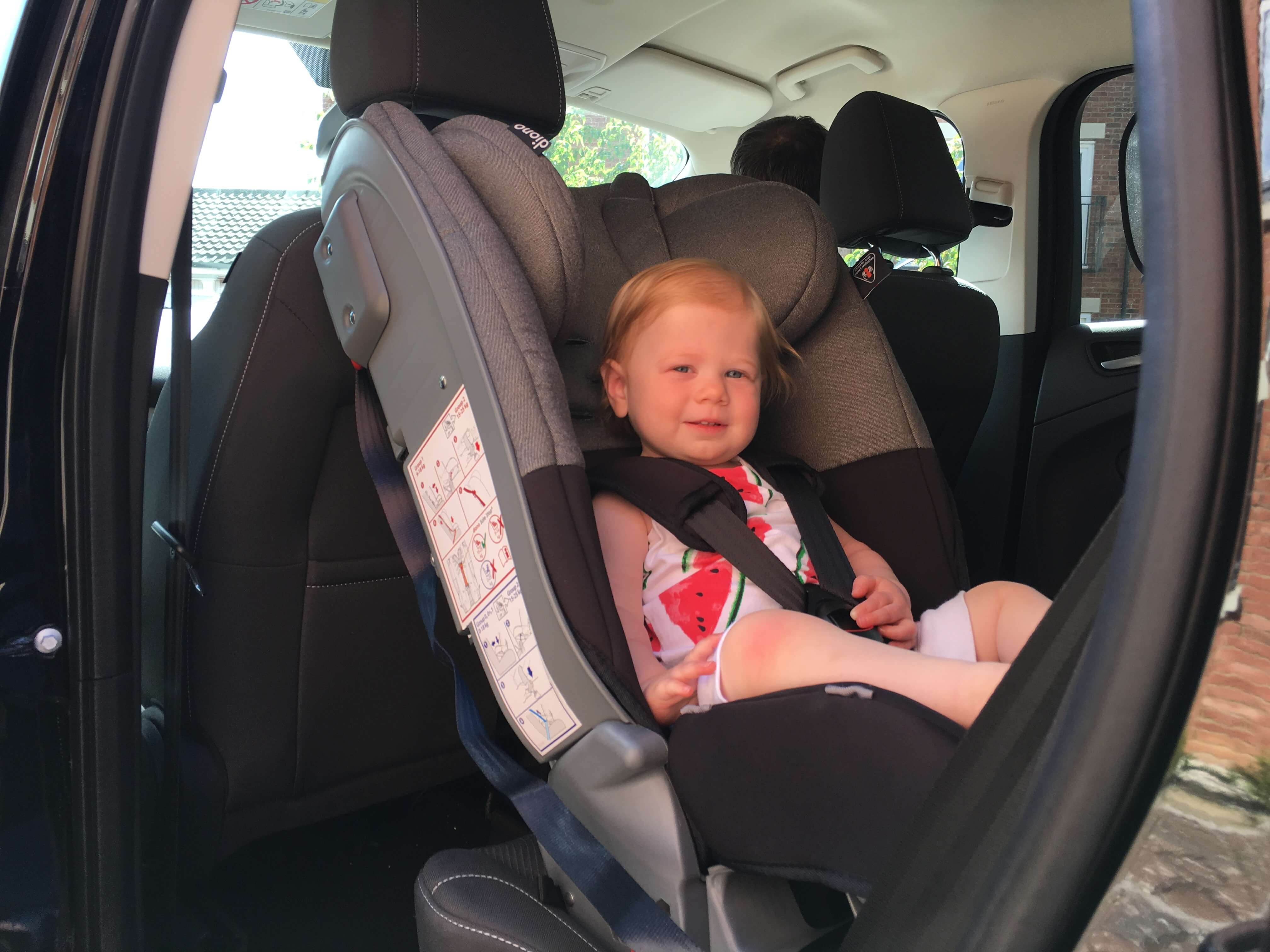 Diono Radian 5 Review Extended Rear Facing Car Seat