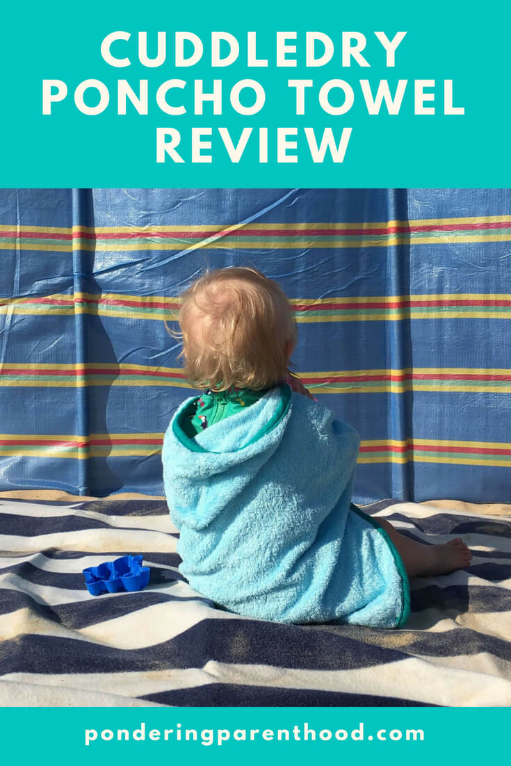 A review of the Cuddledry toddler beach towel