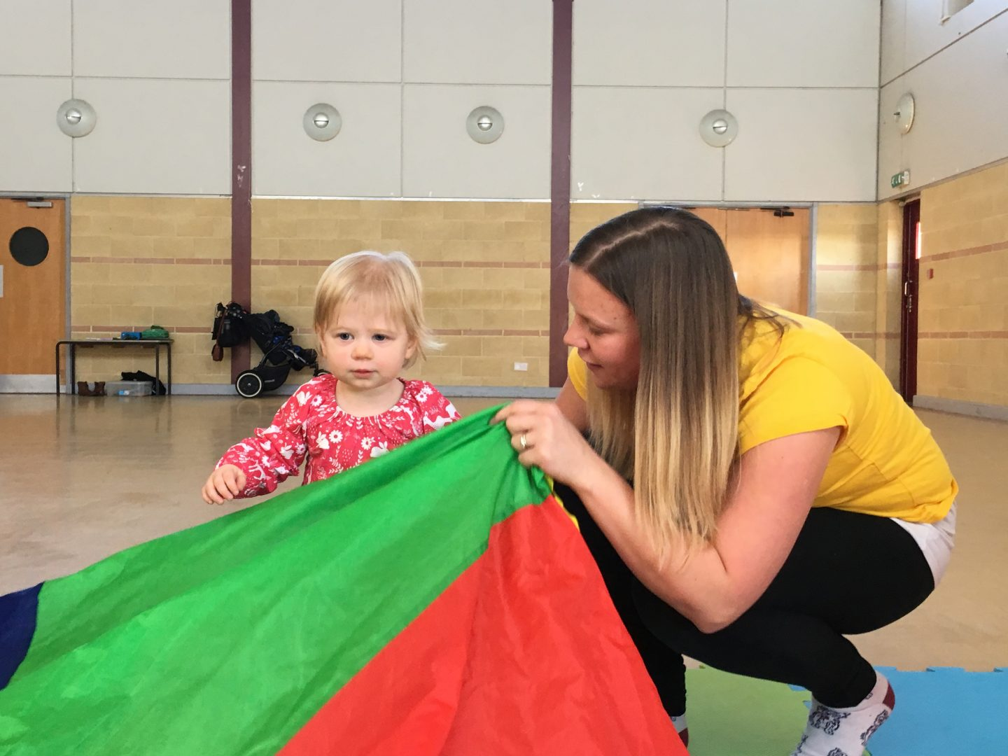 Bop Tots baby movement classes Norwich