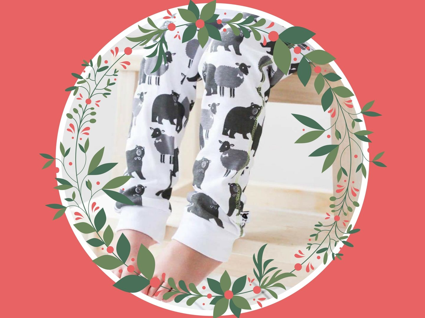 Lamb and Bear leggings
