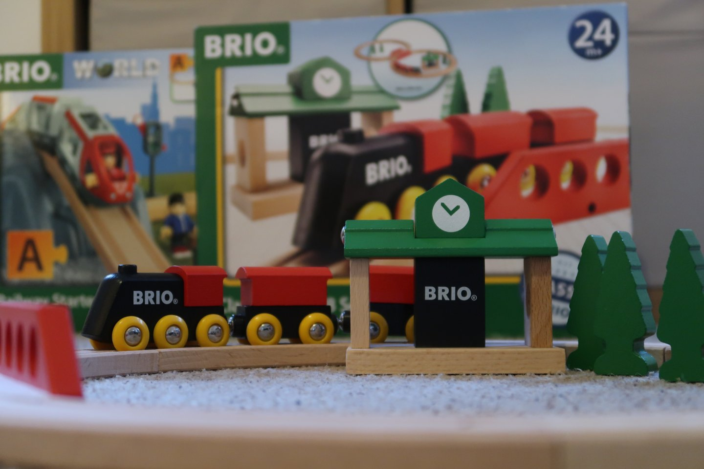 BRIO Classic Railway Figure 8 Set, Brio train set, BRIO World