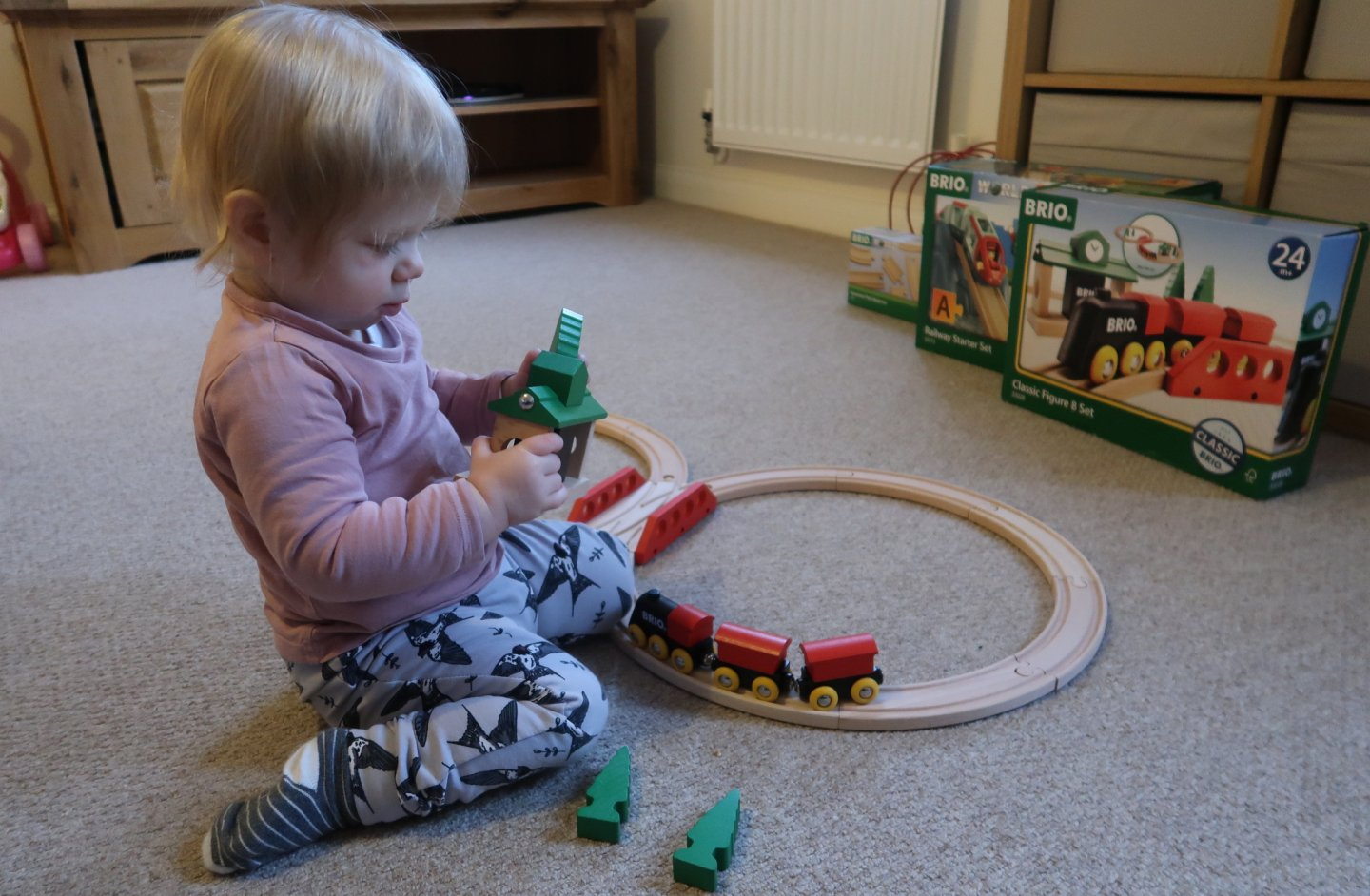 BRIO train set, BRIO railway set