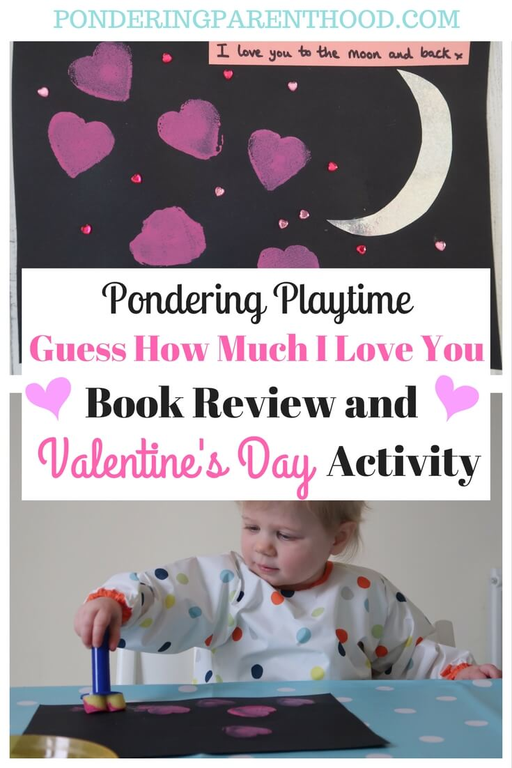 Guess How Much I Love You Valentine's Day Craft Activity
