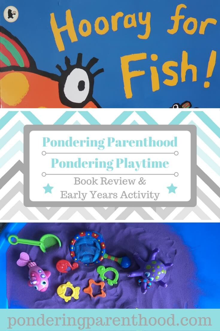 Hooray for Fish by Lucy Cousins - book review and early years activity