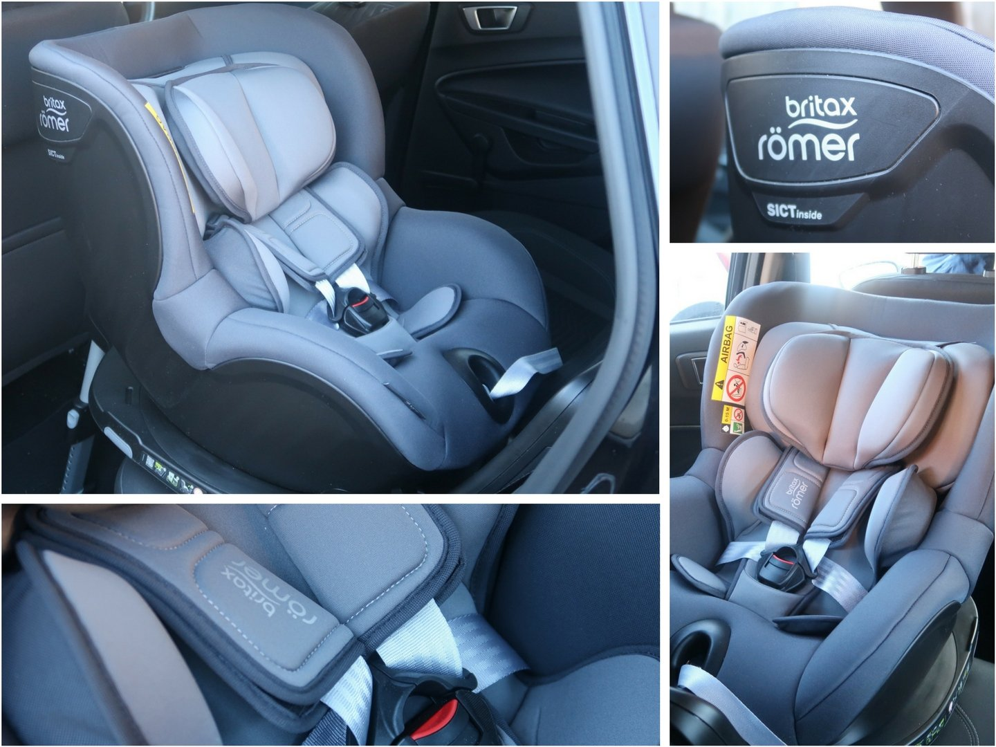 Britax Römer Dualfix i-Size infant and toddler car seat - a first impressions review