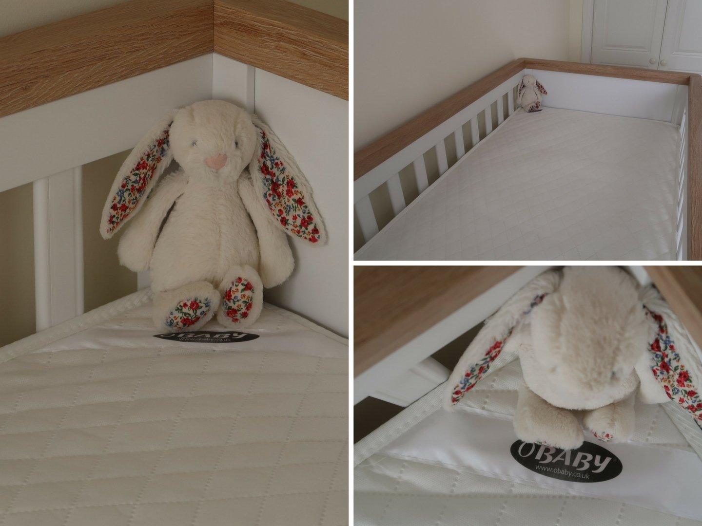 Obaby sprung cot bed mattress
