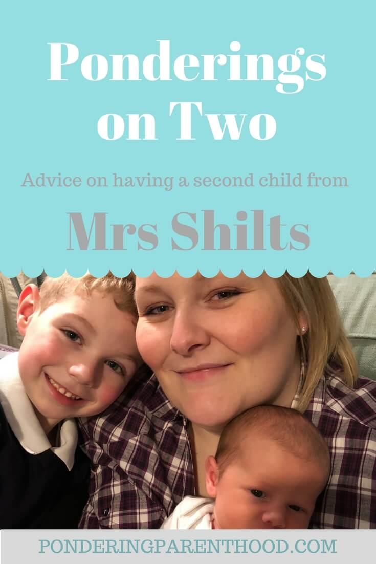 Advice on having two children with a five year age gap from Mrs Shilts.