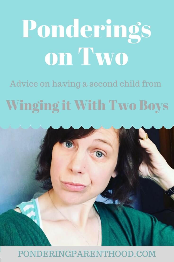 Advice on having a second child from Hayley of Winging It With Two Boys. What's it like going from one child to two? Best products for a second child? Parenting advice? Look no further!