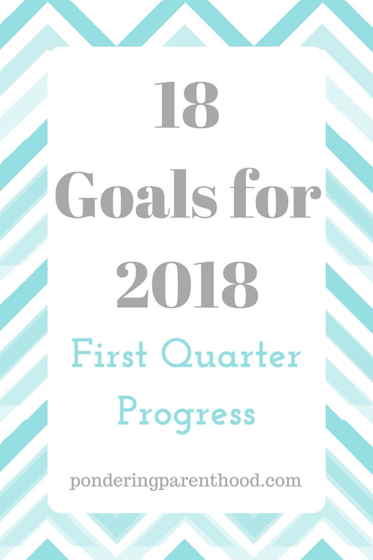 I set myself 18 goals for 2018 - here's my progress after three months.