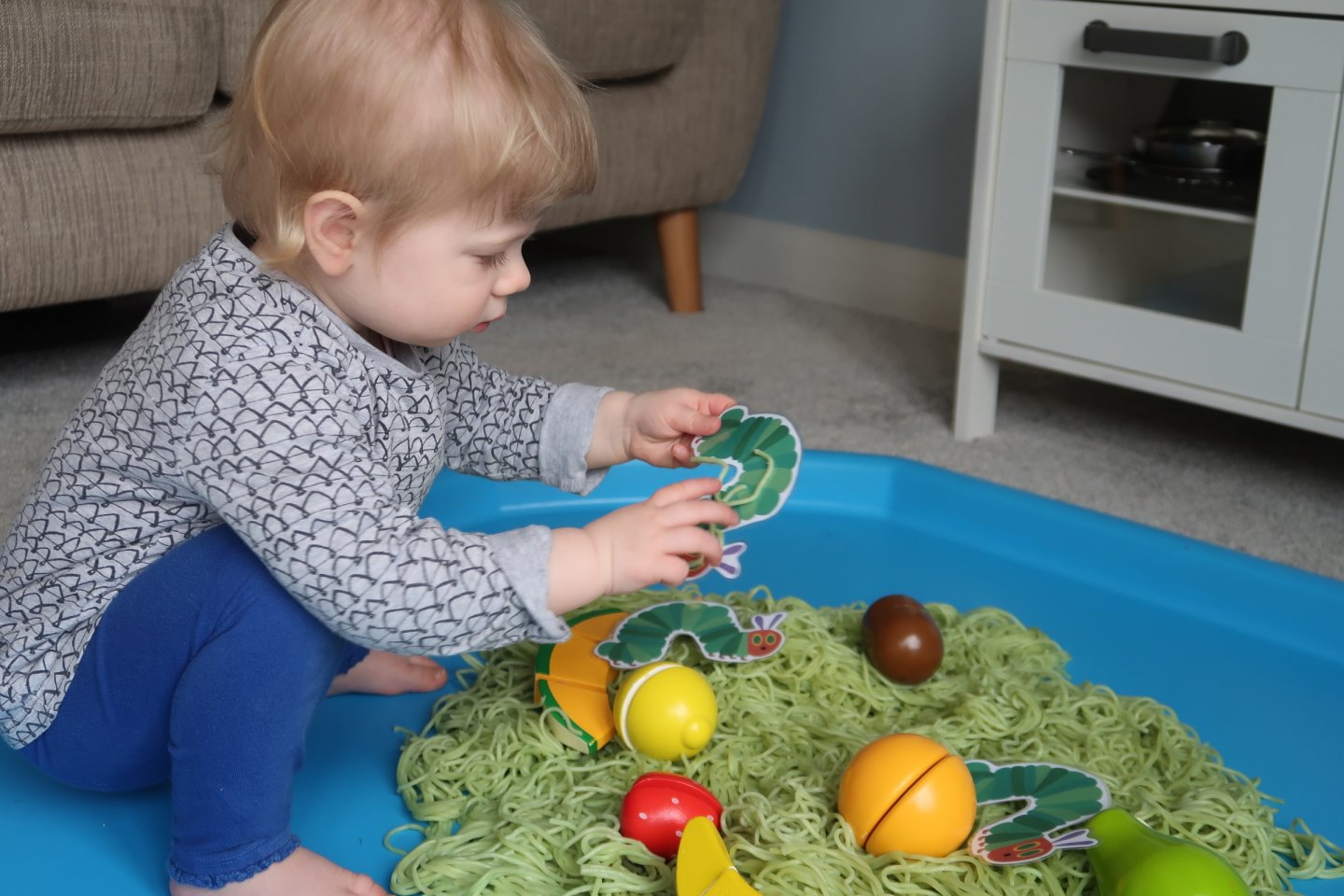 The Very Hungry Caterpillar EYFS activity