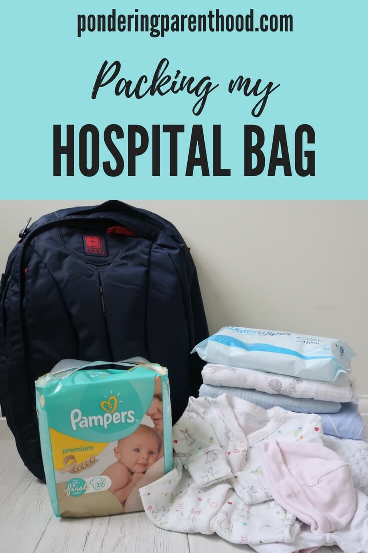 What to pack in your hospital bag in preparation for having a baby.