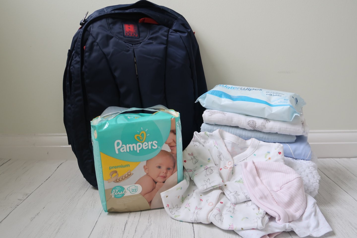 What to pack in baby's hospital bag