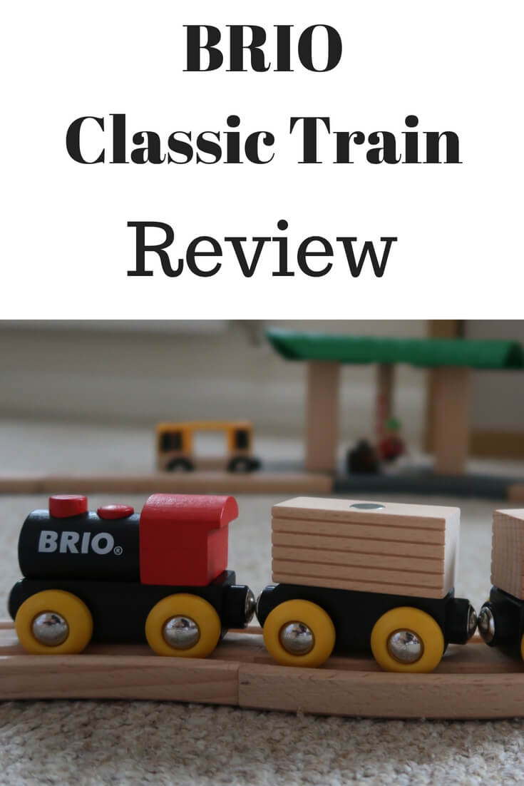 A review of the BRIO Classic Train. A lovely wooden train, perfect for ages 2+.