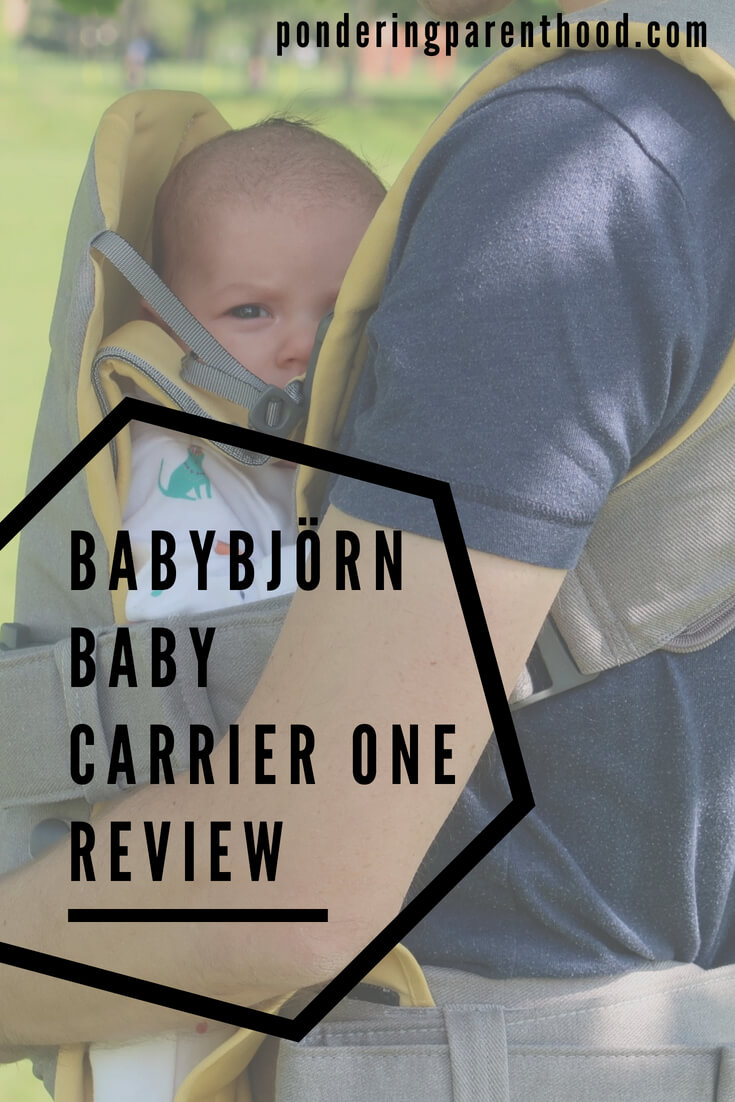 A review of the BabyBjorn Baby Carrier One structured carrier. Can be used from newborn to three years.