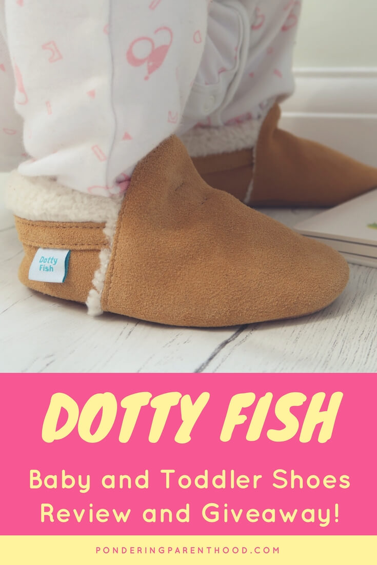 Dotty Fish Baby and Toddler Shoes Review and Giveaway