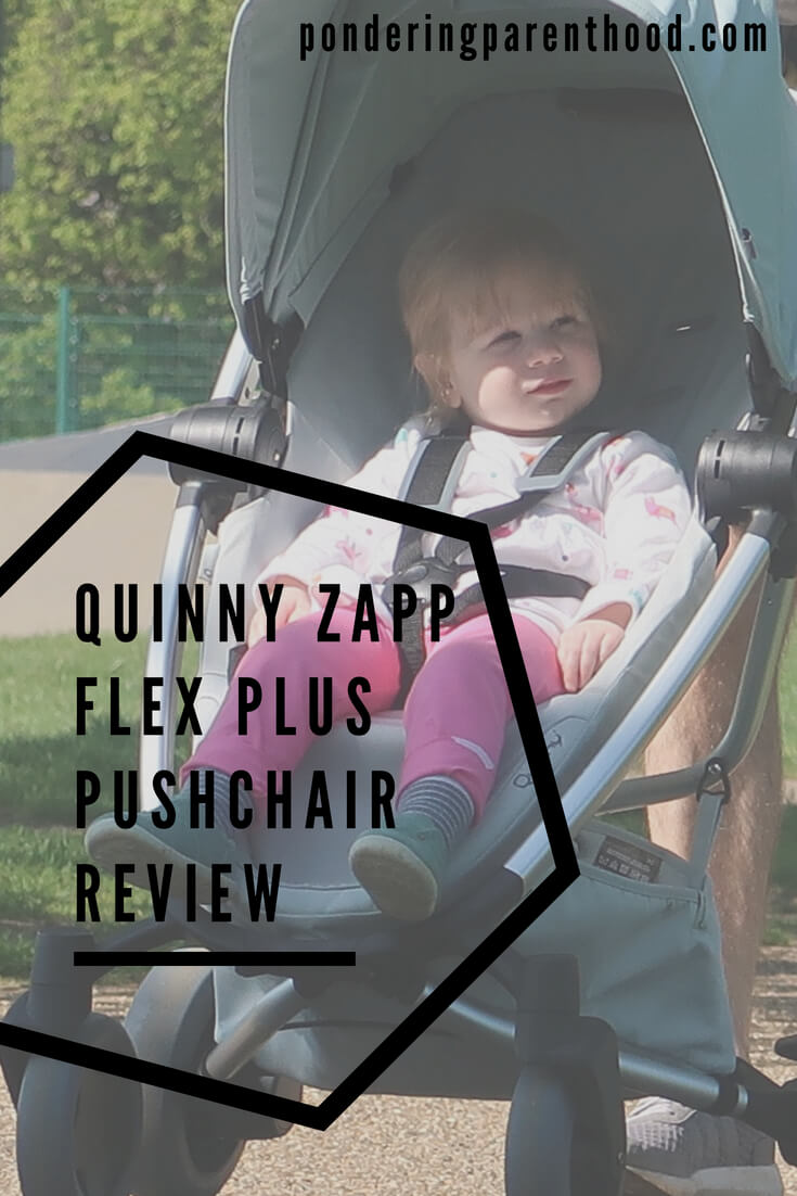 Quinny Zapp Flex Plus pushchair review