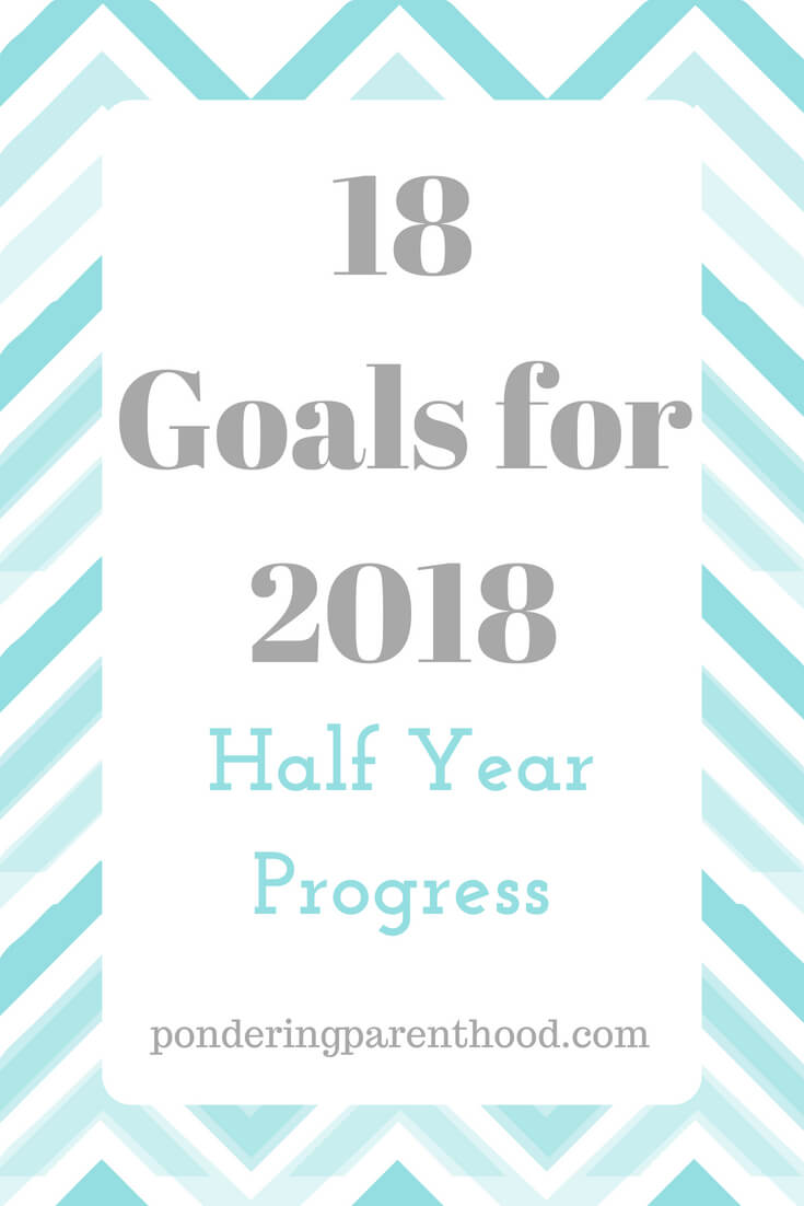 In January, I set myself 18 goals for 2018. Here's how I'm getting on, six months in.