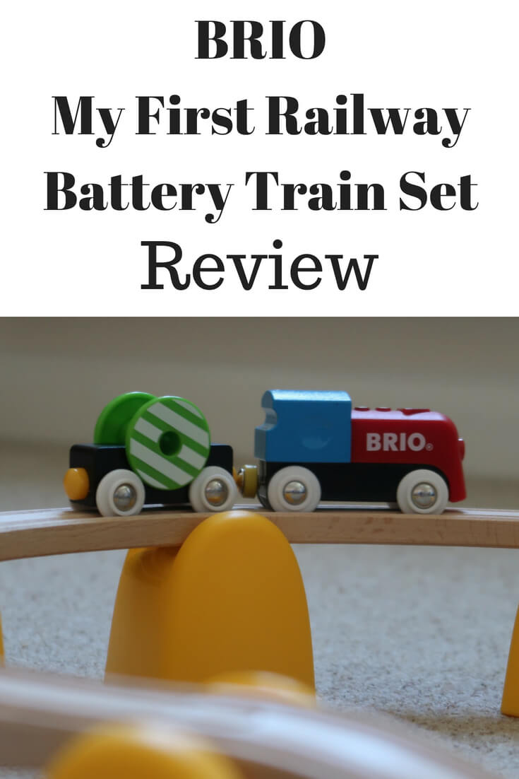 BRIO My First Railway Battery Train Set Review - suitable for 18 months+