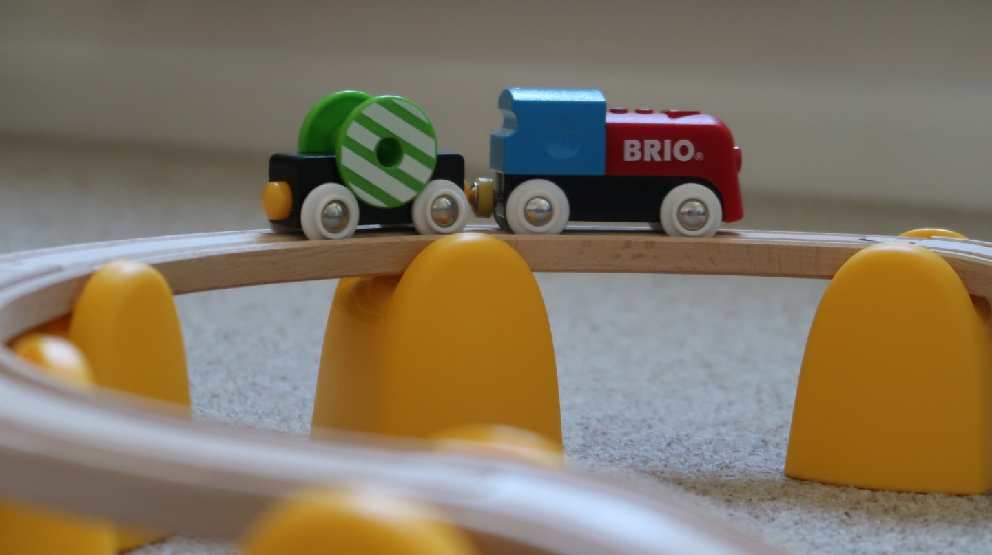 BRIO My First Railway Battery Train Set Review