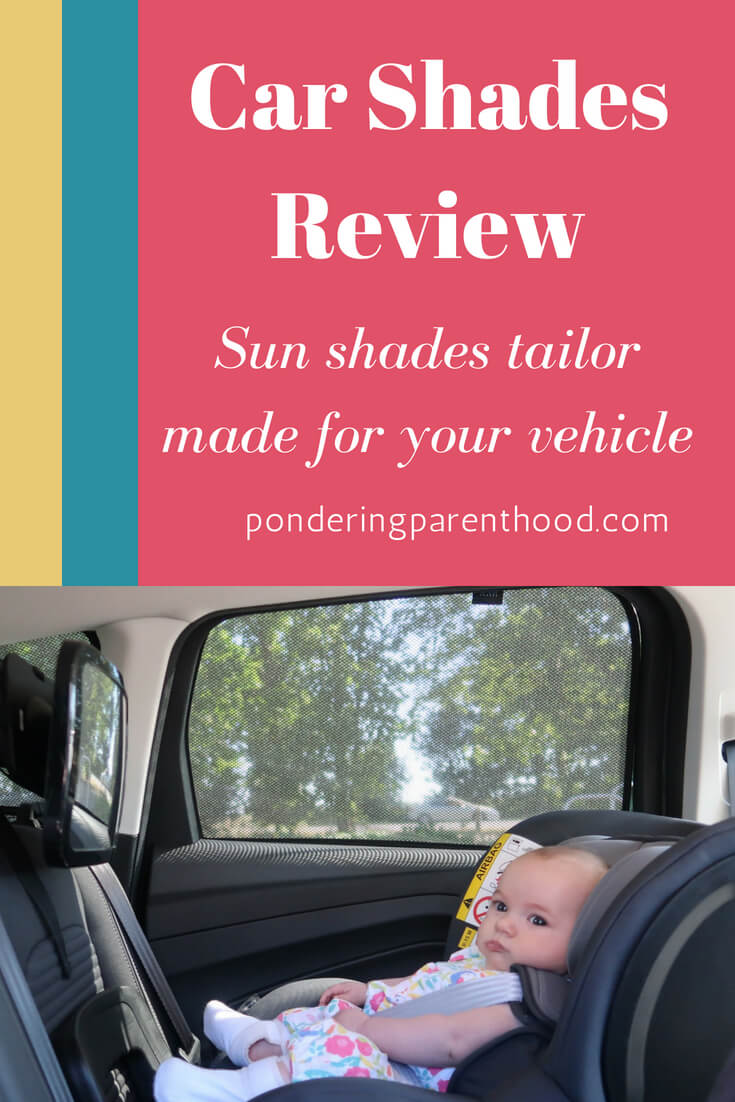 Car Shades Review - tailor made sun shades for your car. Protect your children from the sun's rays with these perfectly fitted sun shades.