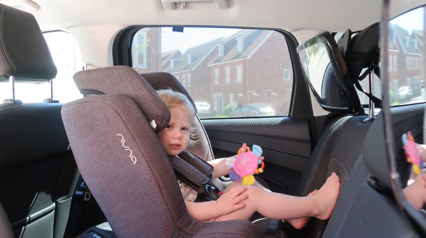 Toddler car sun shades