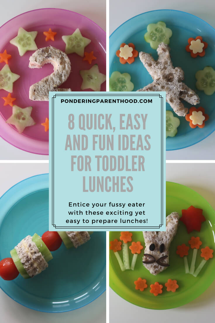 Try these simple ideas to encourage your picky eater toddler to try new foods! Easy to make and fun to eat!