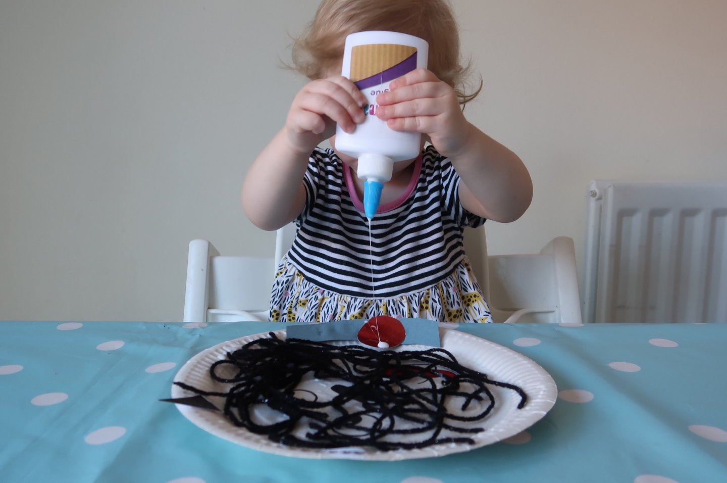 Hairy Maclary EYFS paper plate craft