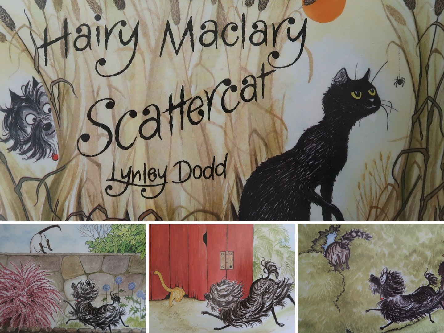 Hairy Maclary EYFS craft activity