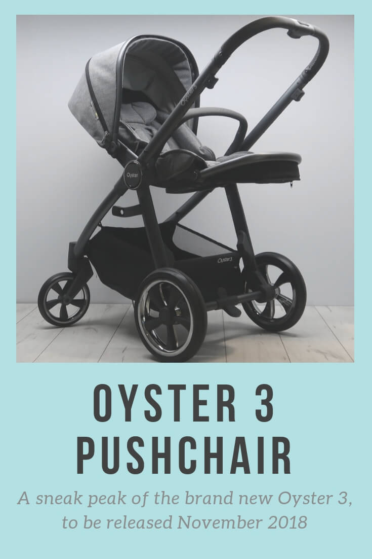 A sneak peak of the brand new BabyStyle Oyster 3. All new features on a very exciting pushchair!