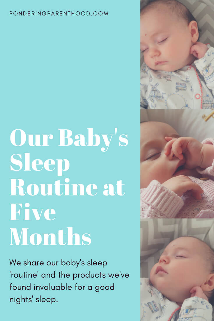 This is our baby's sleep routine at 5 months. Our favourite baby sleep products, from the Sleepyhead to the Snuzpod!