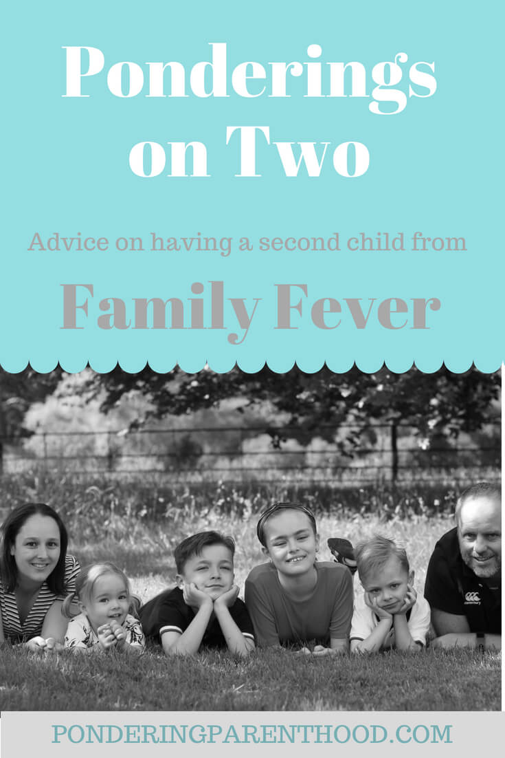 Kate from Family Fever gives her advice on having a second baby, with an age gap just over two years.