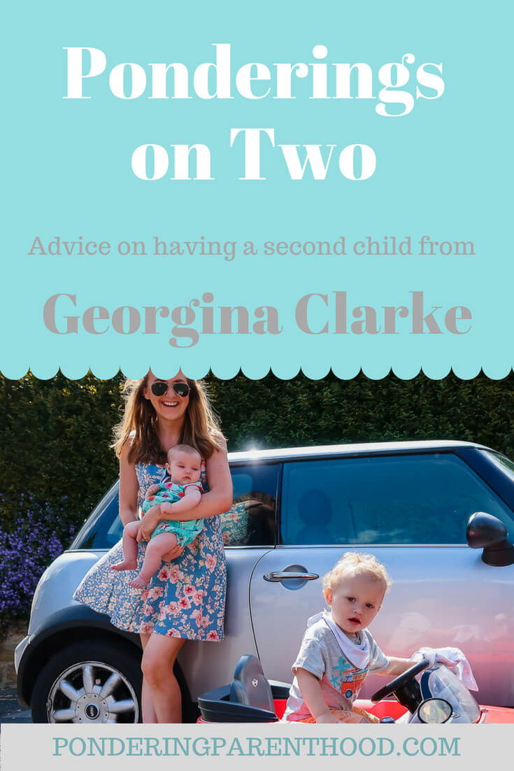 Advice from Georgina Clarke on parenting two under two.