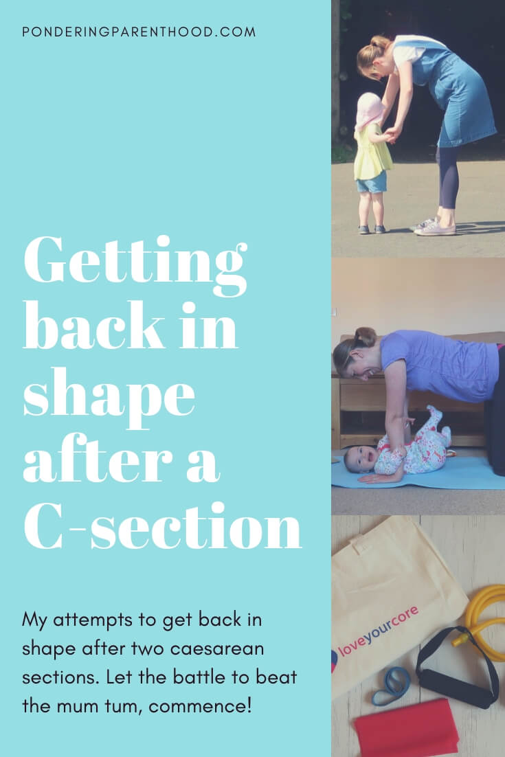 Getting Back in Shape After a C-section