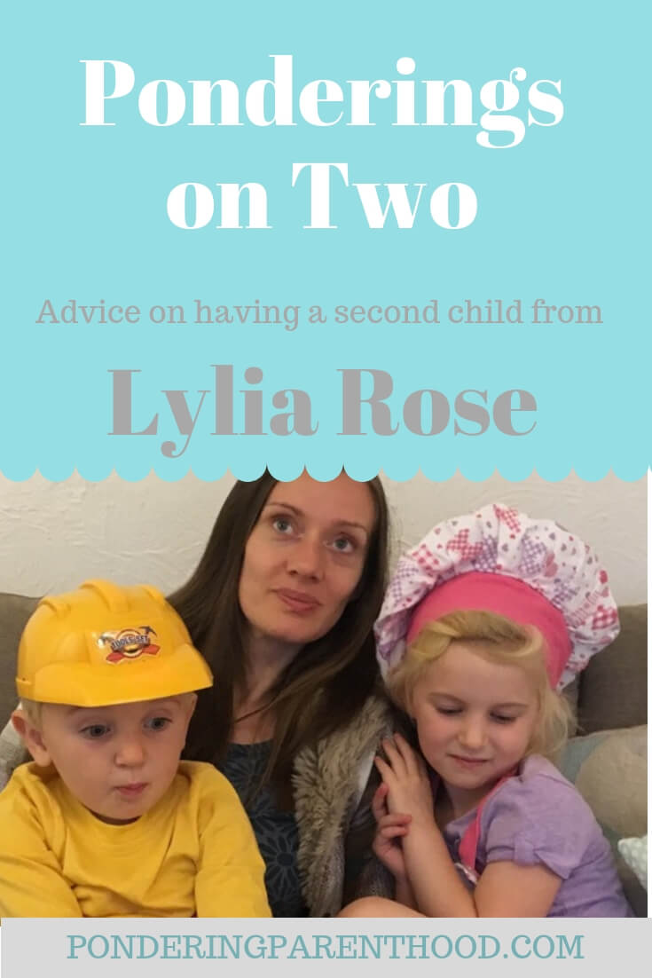 Advice from Lylia Rose on parenting a boy and a girl with a 2 year, 9 month age gap.