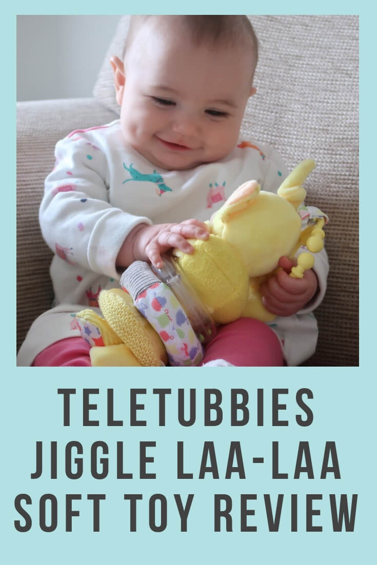 Teletubbies Jiggle Laa-Laa Soft Toy Review