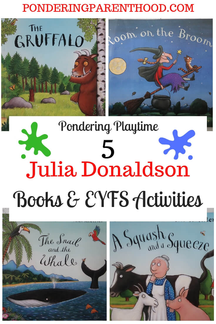 Julia Donaldson Books and Learning Activities