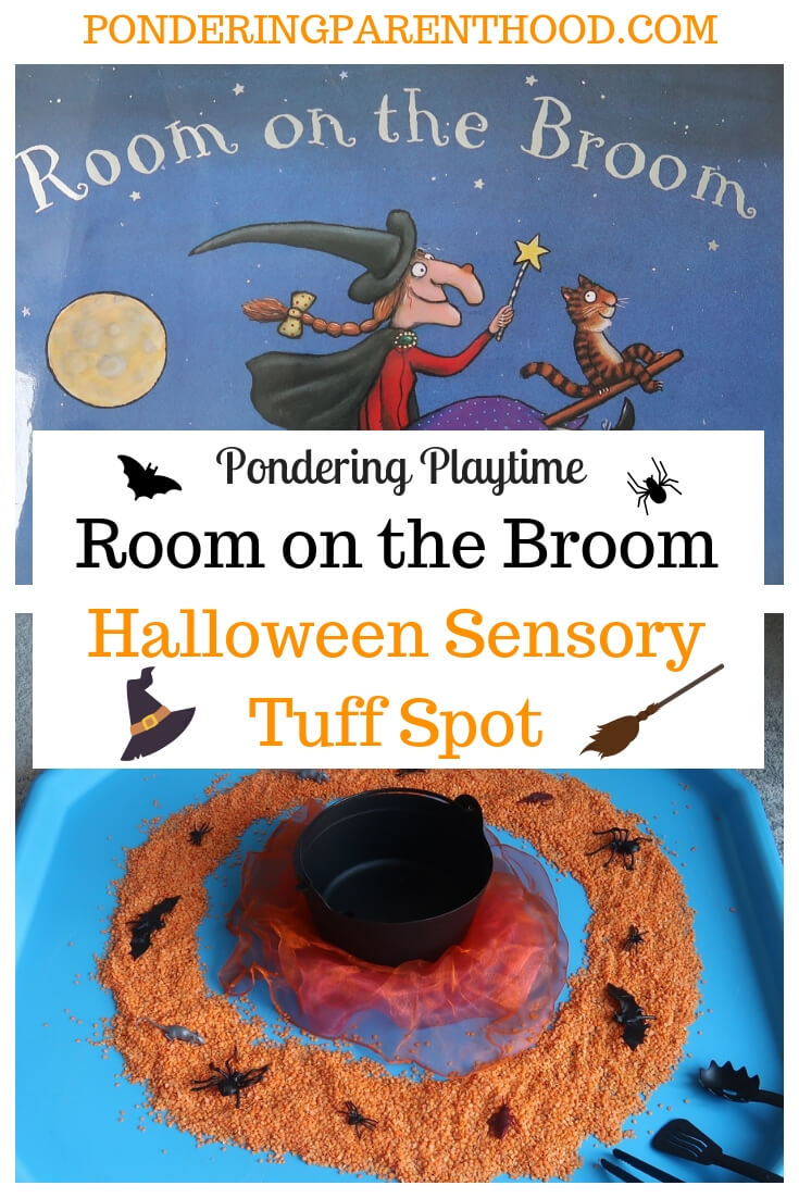 Room On The Broom Halloween Tuff Spot