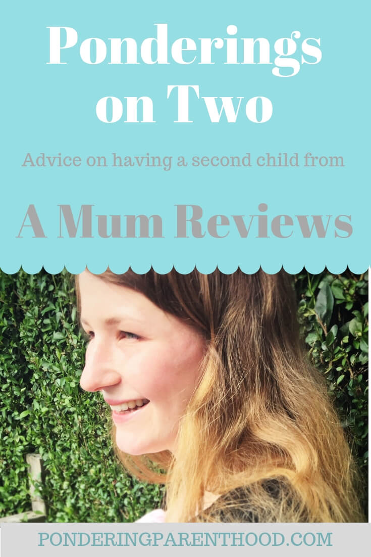 Advice on having two children with a two-year age gap from Petra, blogger at A Mum Reviews.