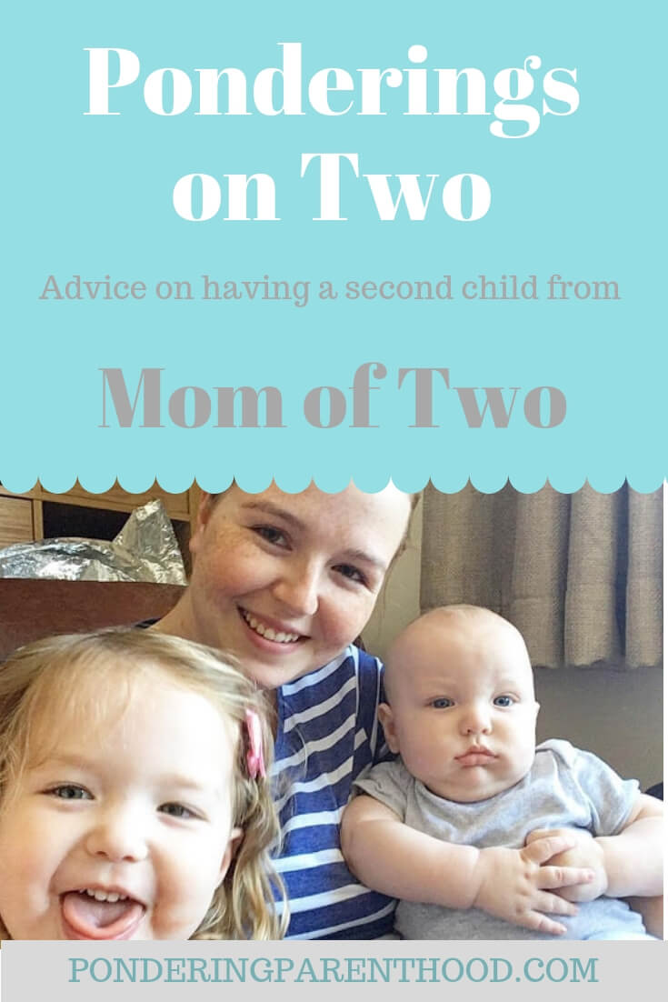Stacy shares her advice and experience of having two children with a 22 month age gap.