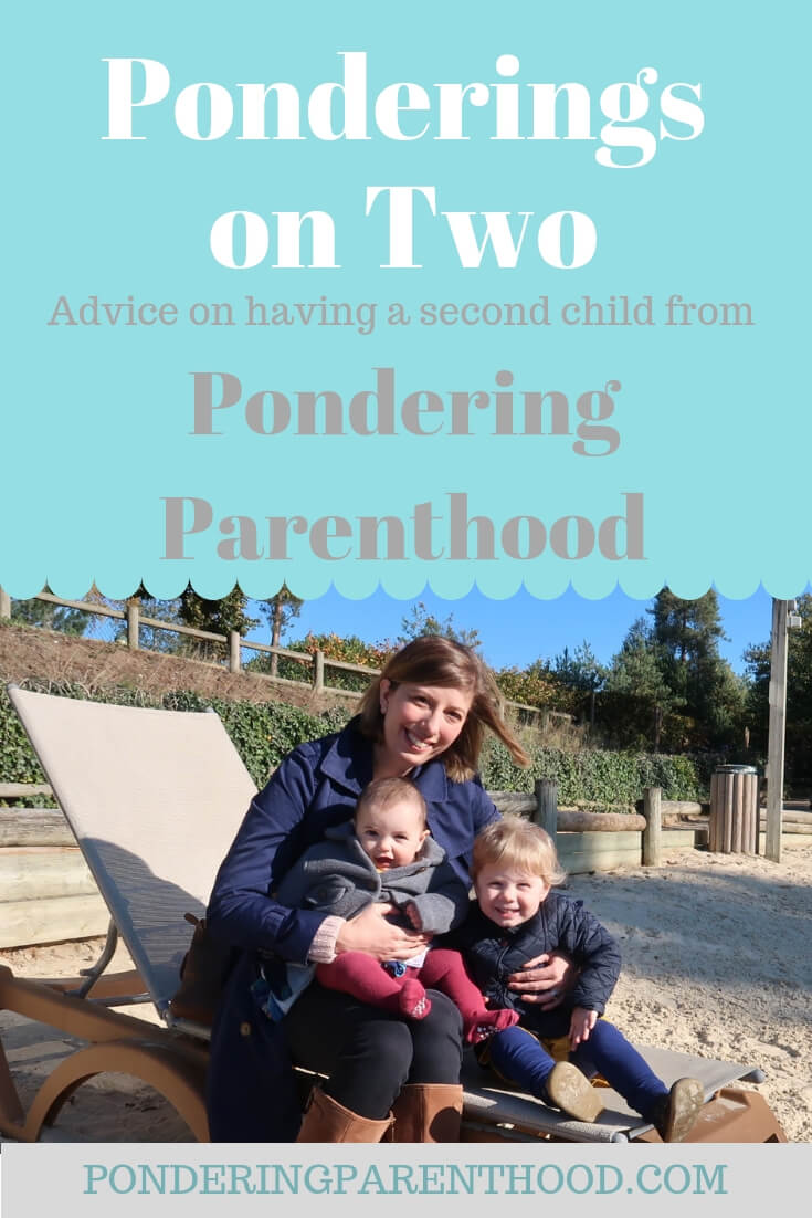 Advice on having a second child. I share my experience of the early months of parenting two children with a 22 month age gap.