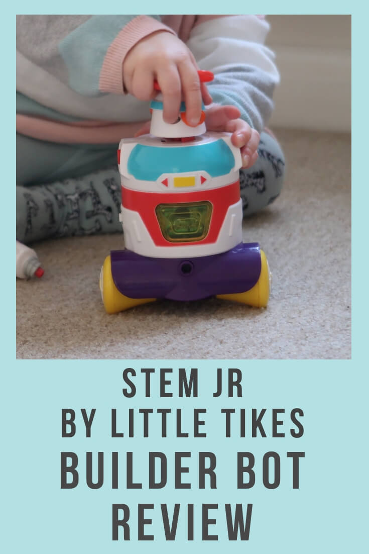 STEM Jr by Little Tikes Builder Bot Review